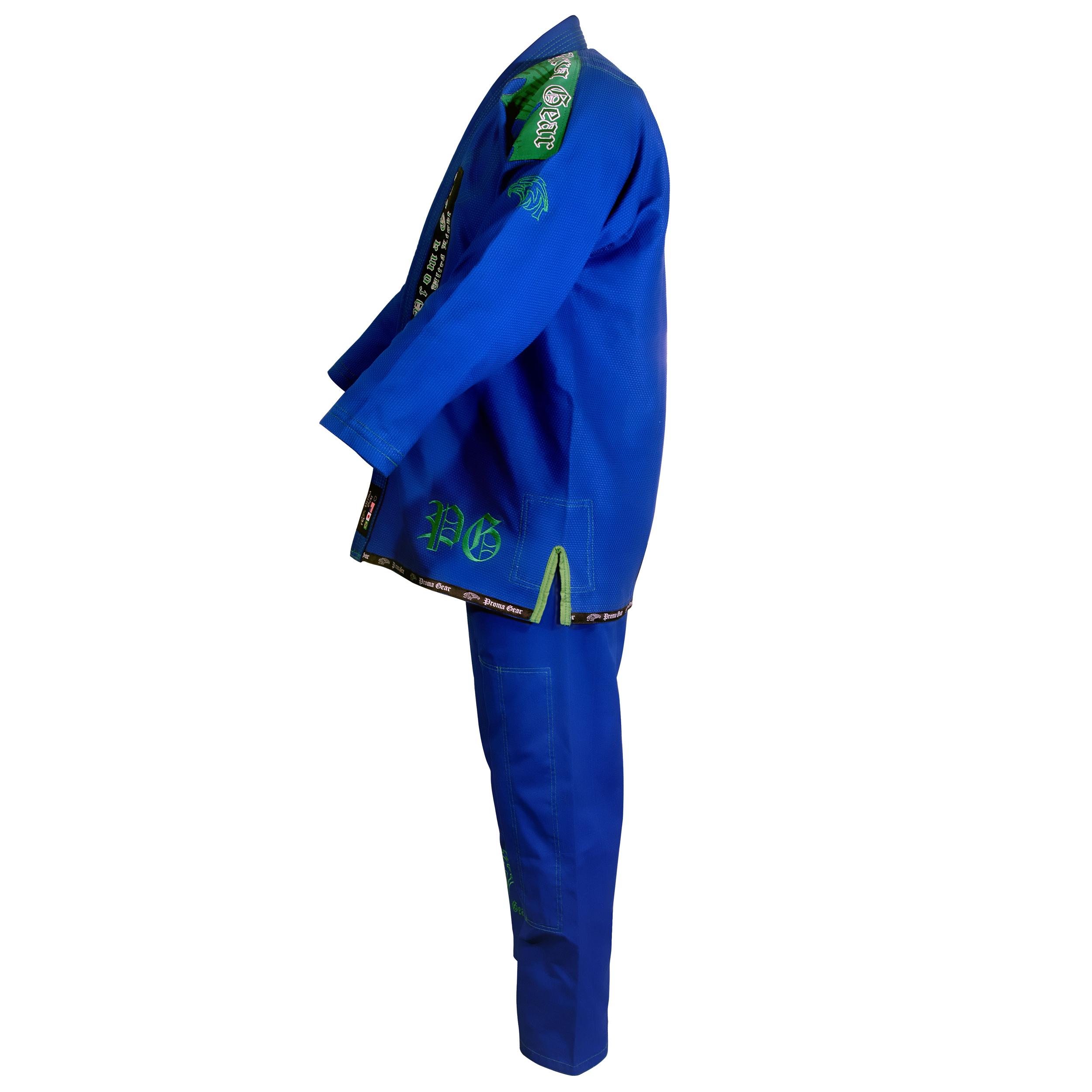 Ultra Light Gi Blue (Pearl Weave)