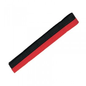 Poom Belts BLACK / RED #1950