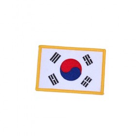 Korea Flag P1108