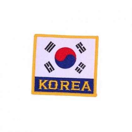 Korea Flag P1102