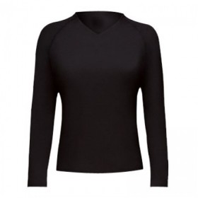 Female Rash Guard Black # 6035