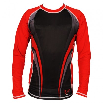 Sublimated Rash Guard Red