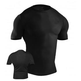 MMA Rash Guard Black #6025