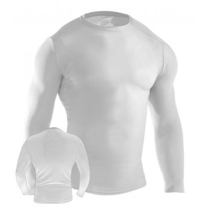 MMA Rash Guard White #6016