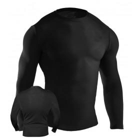 MMA Rash Guard Black #6015