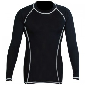 Rank Rashguards full sleeve Black