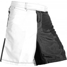 MMA black/white Two tone Short 6010