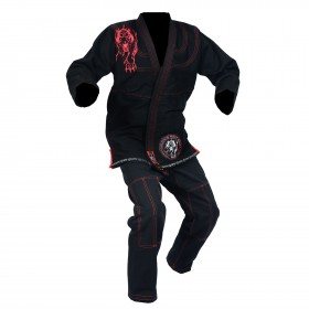 Elite Gi Black With Embroidery