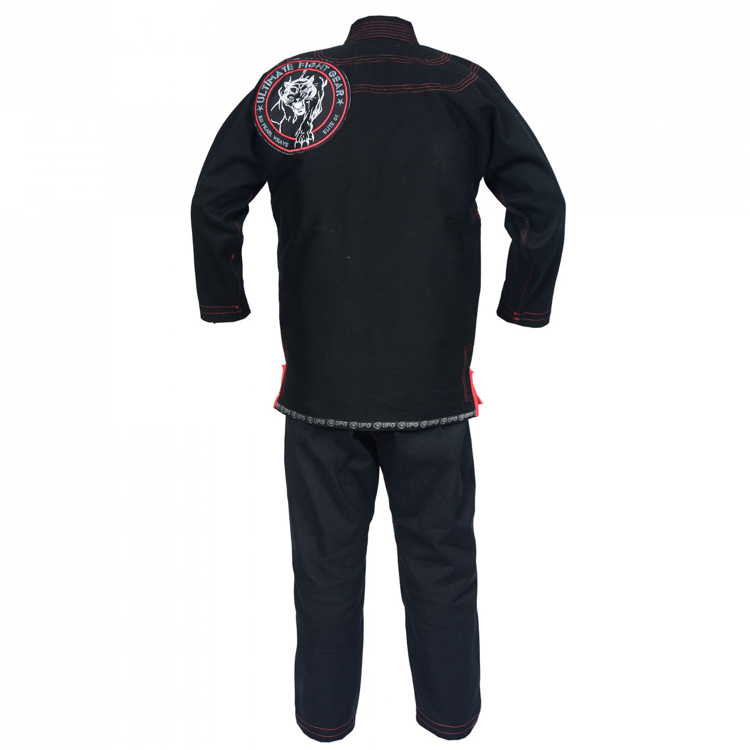 Elite Gi Black With Embroidery