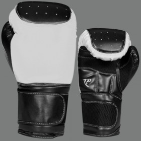 Boxing Gloves White & Black # BW 20