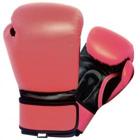 Boxing Gloves Black / Pink