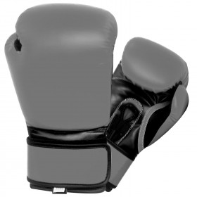 Boxing Gloves Grey / Black