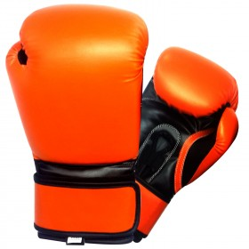Boxing Gloves Black / Orange