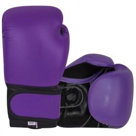 Boxing Gloves Purple / Black