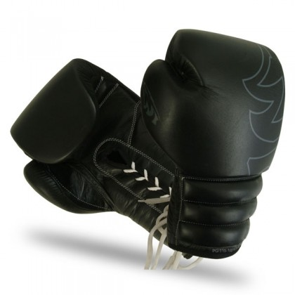 Boxing Gloves Leather with Laces (Fight Gloves)