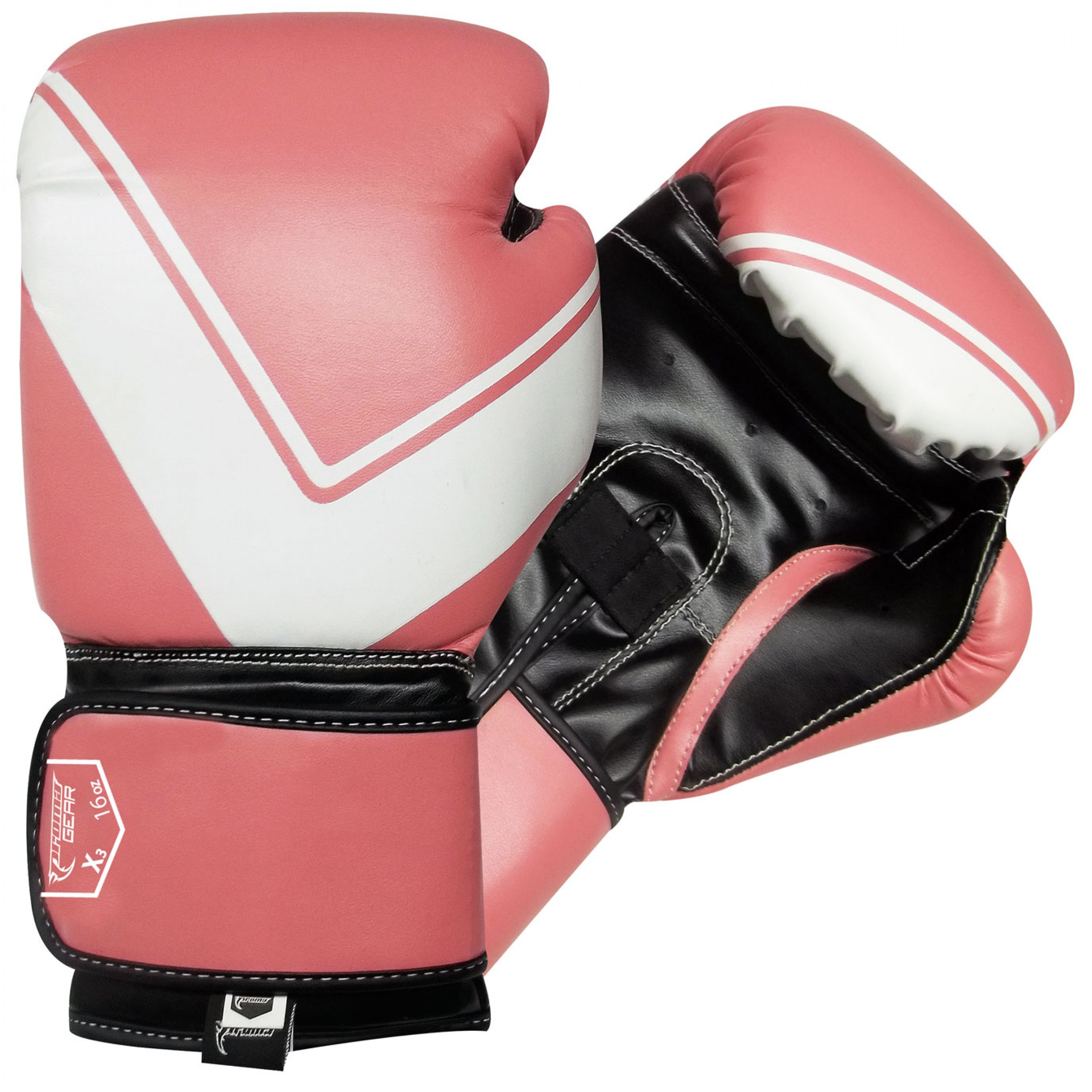 Shiv Naresh Teens Boxing Gloves 12oz: Boxing Gloves Black / Pink