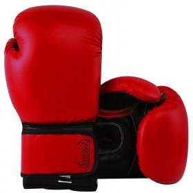 Kids Boxing Gloves Red Black