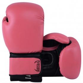 Kids Boxing Gloves Pink Black