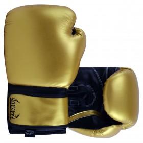 Kids Boxing Gloves Gold Black