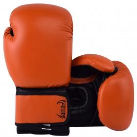 Kids Boxing Gloves Orange Black