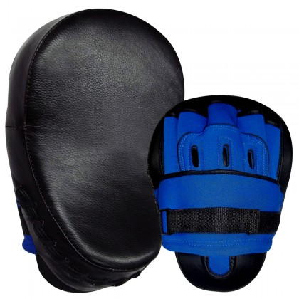 Focus Pad G/Leather Black / Blue