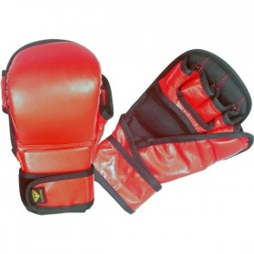 MMA Sparring Gloves Red 2025