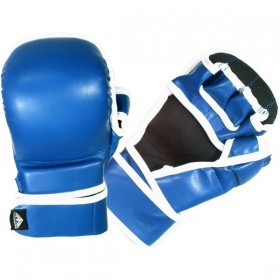 MMA Sparring Gloves Blue 2025