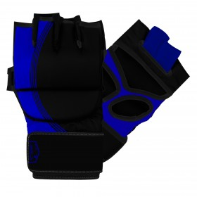 MMA Striking Gloves Black / Blue