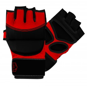 MMA Striking Gloves Black / Red
