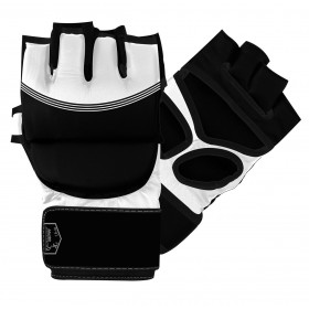 MMA Striking Gloves Black / White