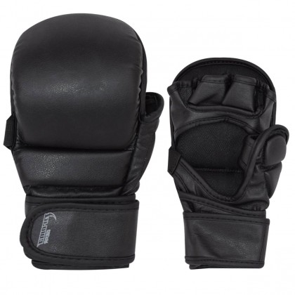 PMG MMA Sparring Gloves (All Black)