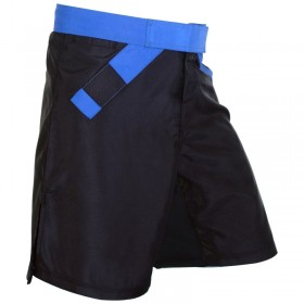 MMA Rank Shorts Black/Blue belt