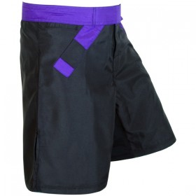 MMA Rank Shorts Black/Purple belt