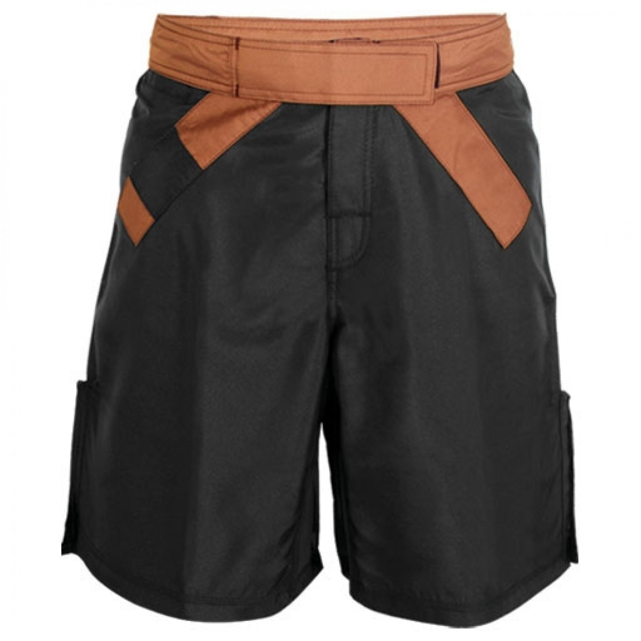 MMA Rank Shorts Black/Brown belt
