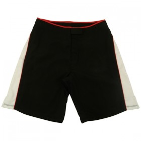 MMA Shorts Black/White