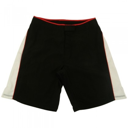 MMA Shorts Black/White
