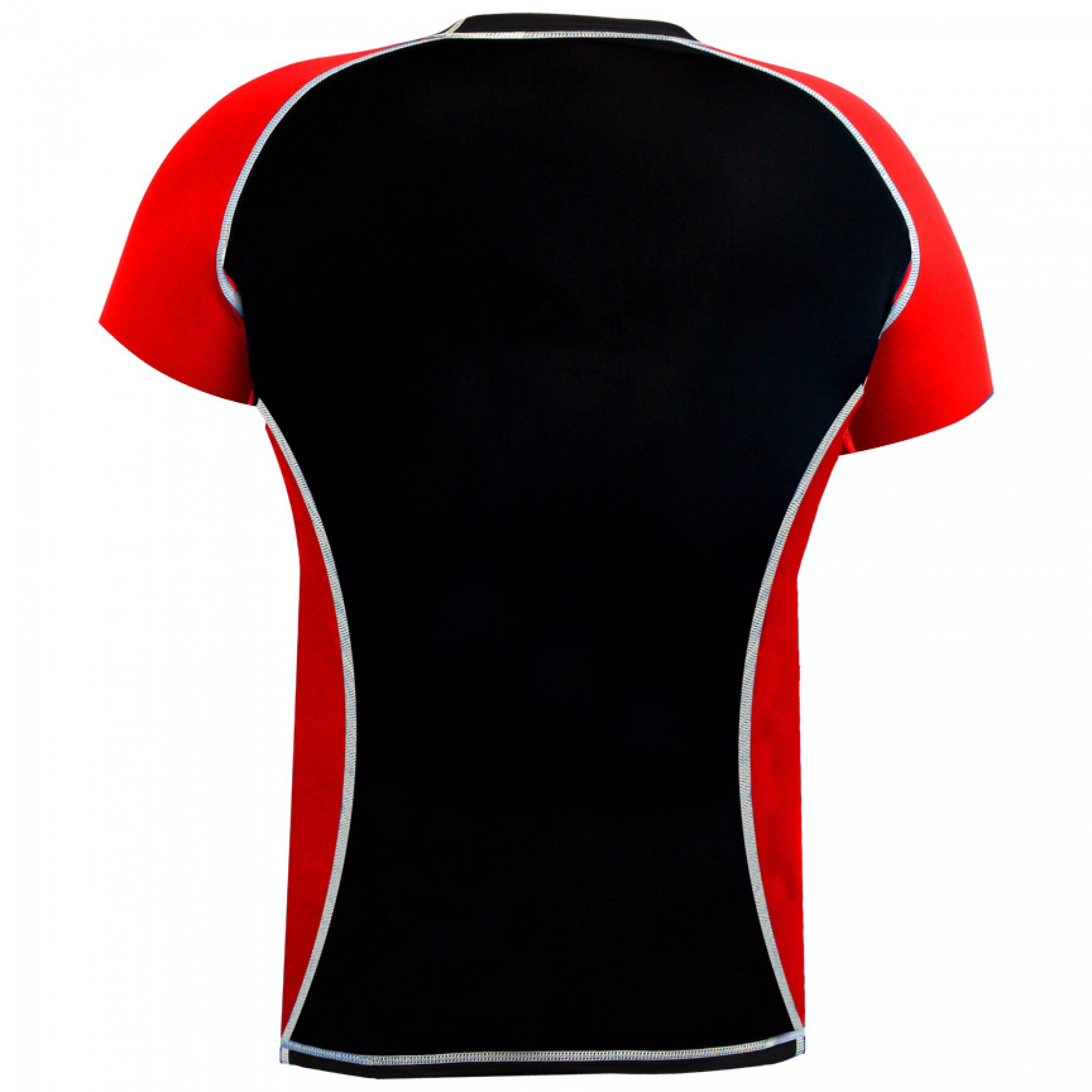 Rank Rashguards Half Sleeve Red