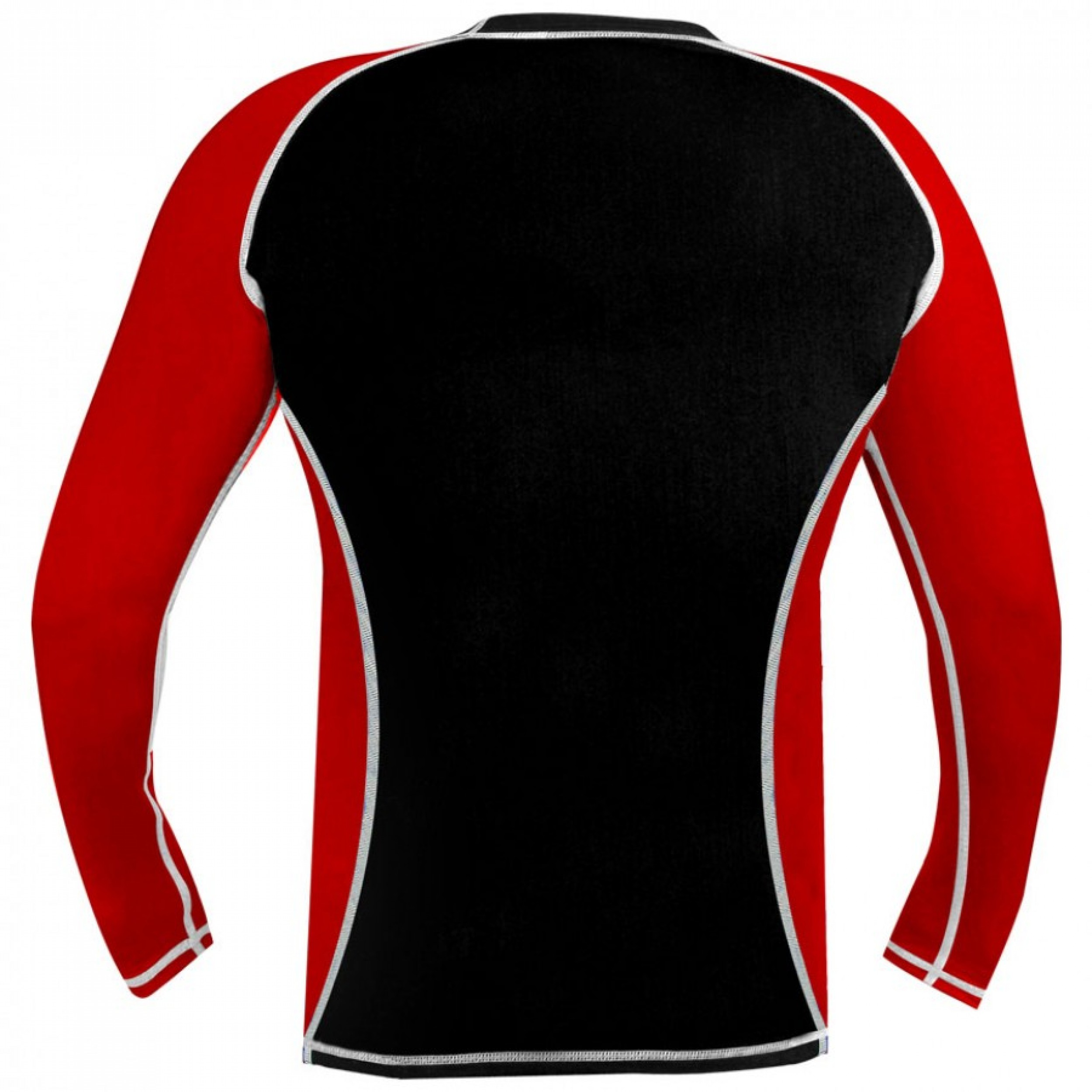 Rank Rashguards full sleeve Red