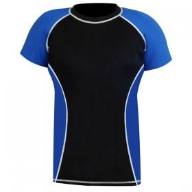 Rank Rashguards Half sleeve Blue/Black