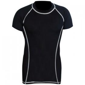 Rank Rashguards Half Sleeve Black