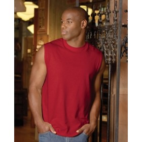 #49M Jerzees 5.4 oz. Heavyweight Cotton Sleeveless T-Shirt