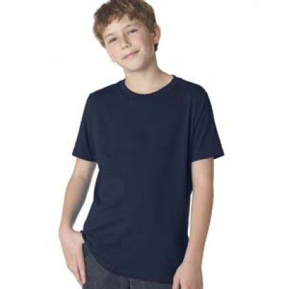 Next Level Boys' Premium Short-Sleeve Crew Tee