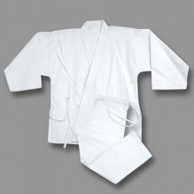 Heavy Weight Uniform (Canvas) White #1500
