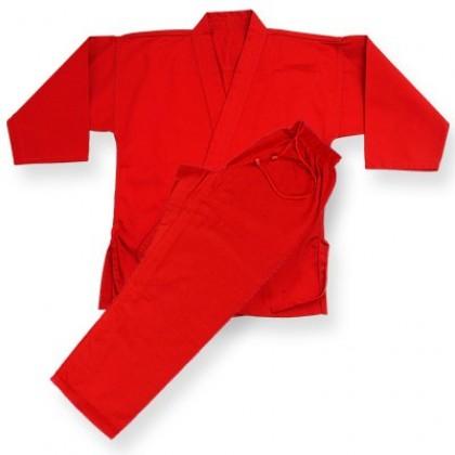 Heavy Weight Uniform (Canvas) Red #1540