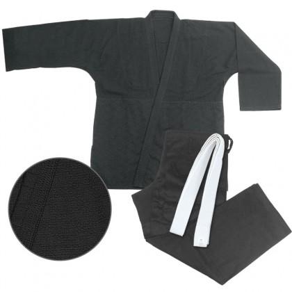 Judo Single Weave Black #1760