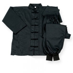 Kung Fu Uniform Black Frog #1820