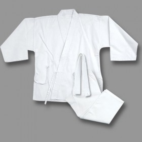 Middle Weight Uniform White 9.5-Oz #1200