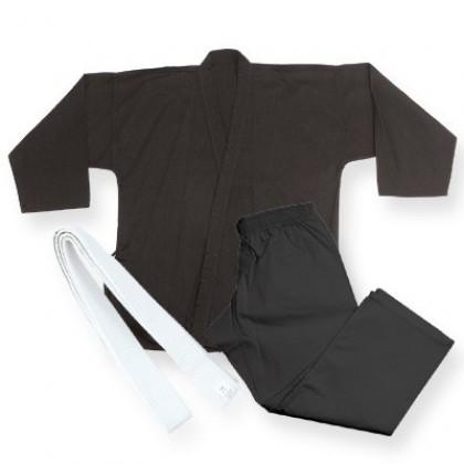 Middle Weight Uniform Black 9.5-Oz #1220
