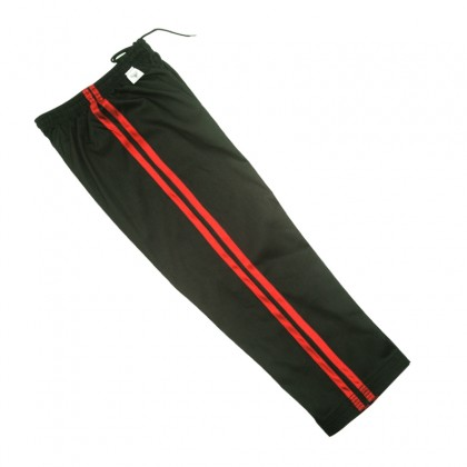 Black Pant With Red Strip 1115