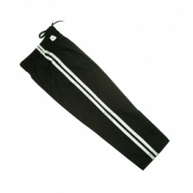 Black Pant With White Strip #1105